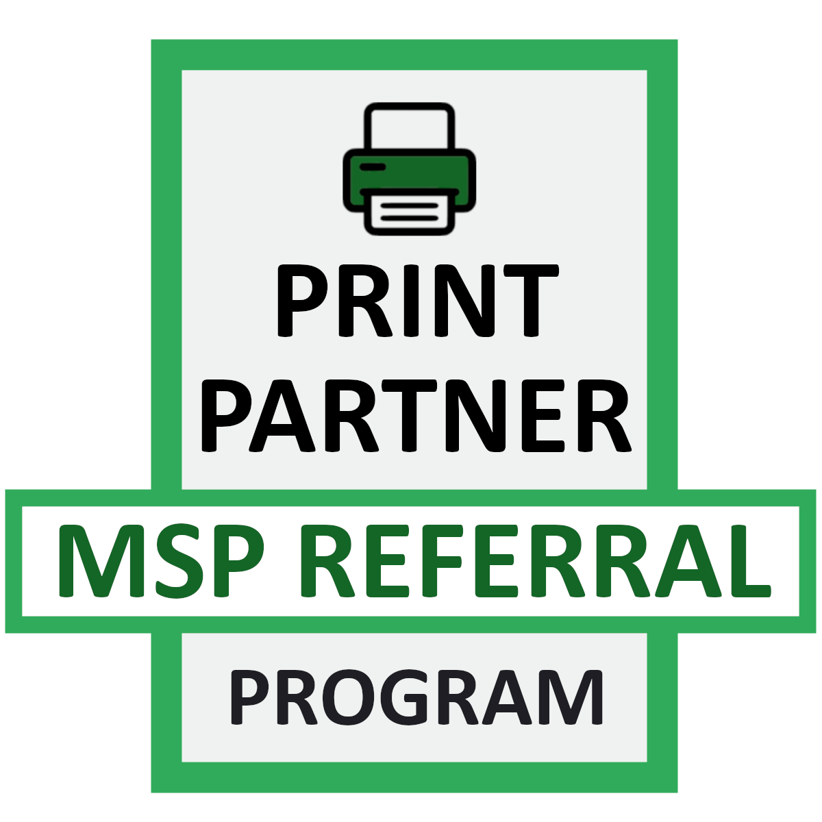 Print Partner MSP Alliance Program